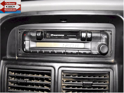 Holden Rodeo Car Stereo Removal