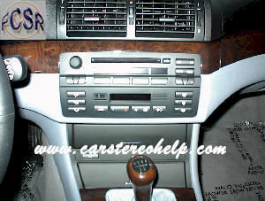 How to remove BMW car stereo