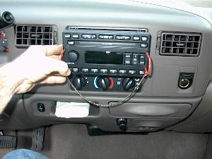 Factory Car Stereo Repair - How to Remove and Install Car Stereo Instructions for Ford Pick-Up