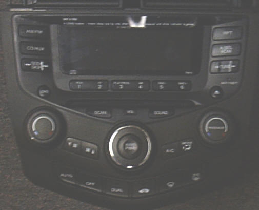 Honda Accord Car Stereo Removal and Installation