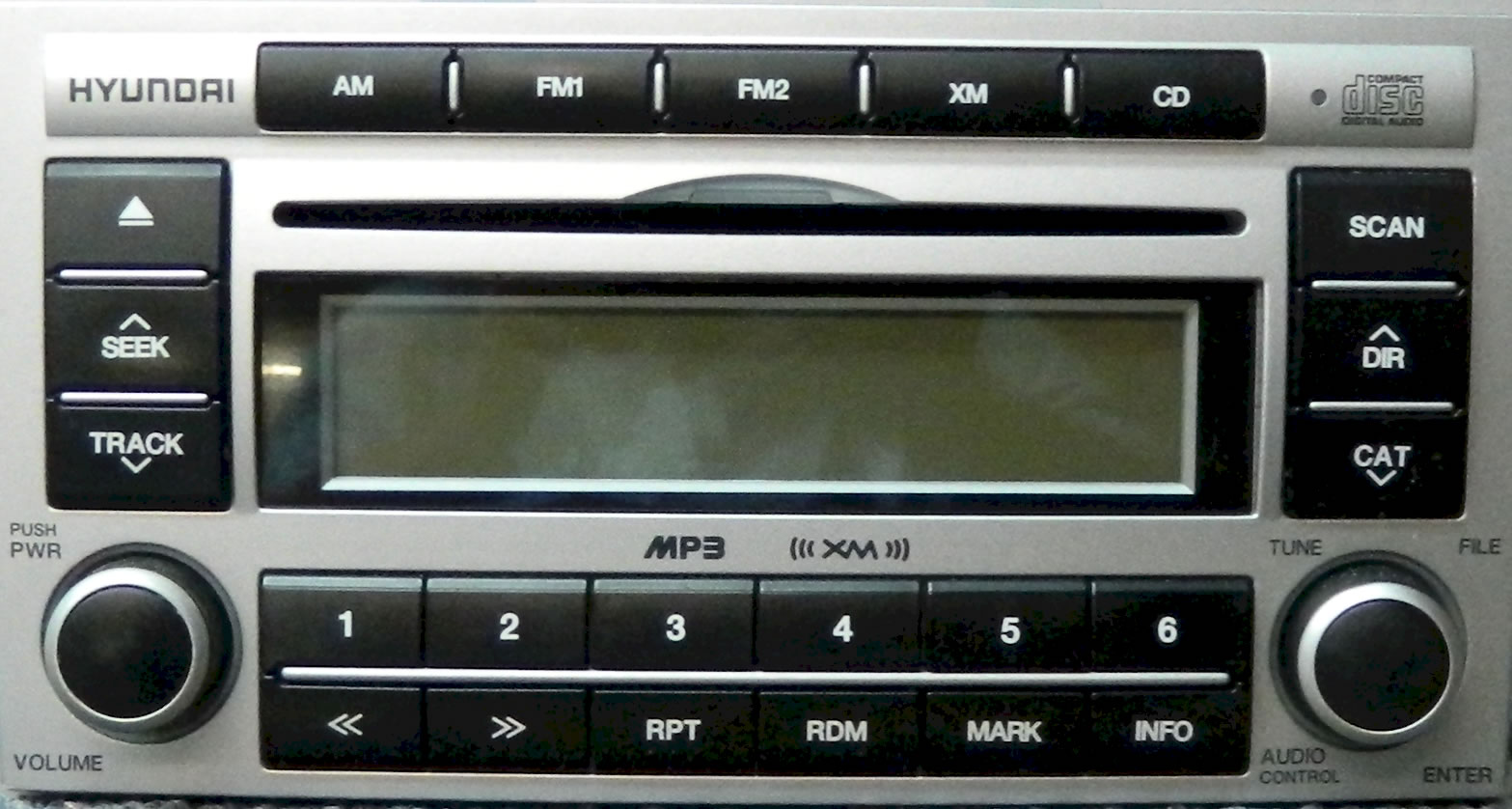 Hyundai Santa Fe Car Stereo Repair