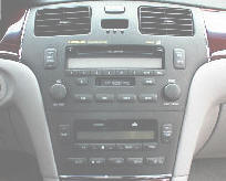 Lexus ES car stereo removal, repair and installation