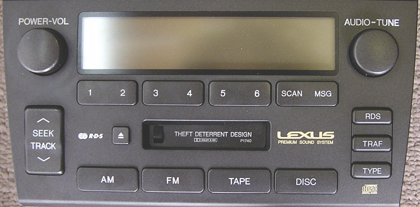 Lexus GS car stereo removal, repair and installation