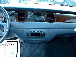 Car Stereo Removal - Lincoln Town Car - Car Stereo and Bose Speaker Amplifier Repair