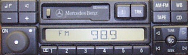Factory Car Stereo Repair - Mercedes Benz car stereo - MBZ Bose Audio Repair