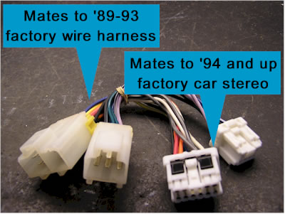 Nissan Factory Wire Harness