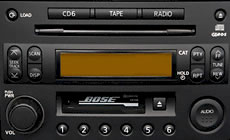 Nissan 350Z CD Player and Stereo Repair