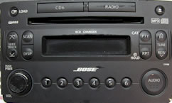Nissan Z Car Stereo and CD player Repair