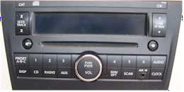 Nissan Altima CD Player Repair