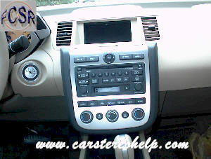 Nissan Murano Repair Car Stereo and Removal