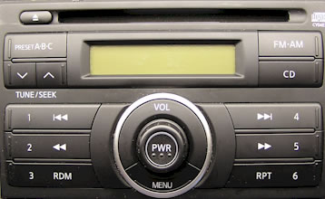 Nissan Versa Car CD Player Repair and Service