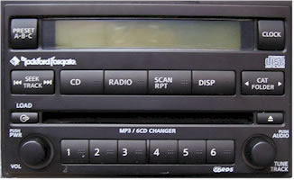 Nissan Xterra Car Stereo Service, Repair and Removal