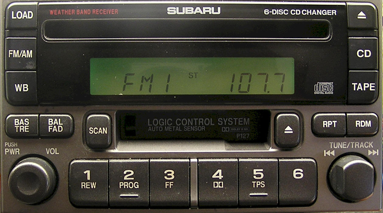 Subaru CD Player Repair Service and Removal