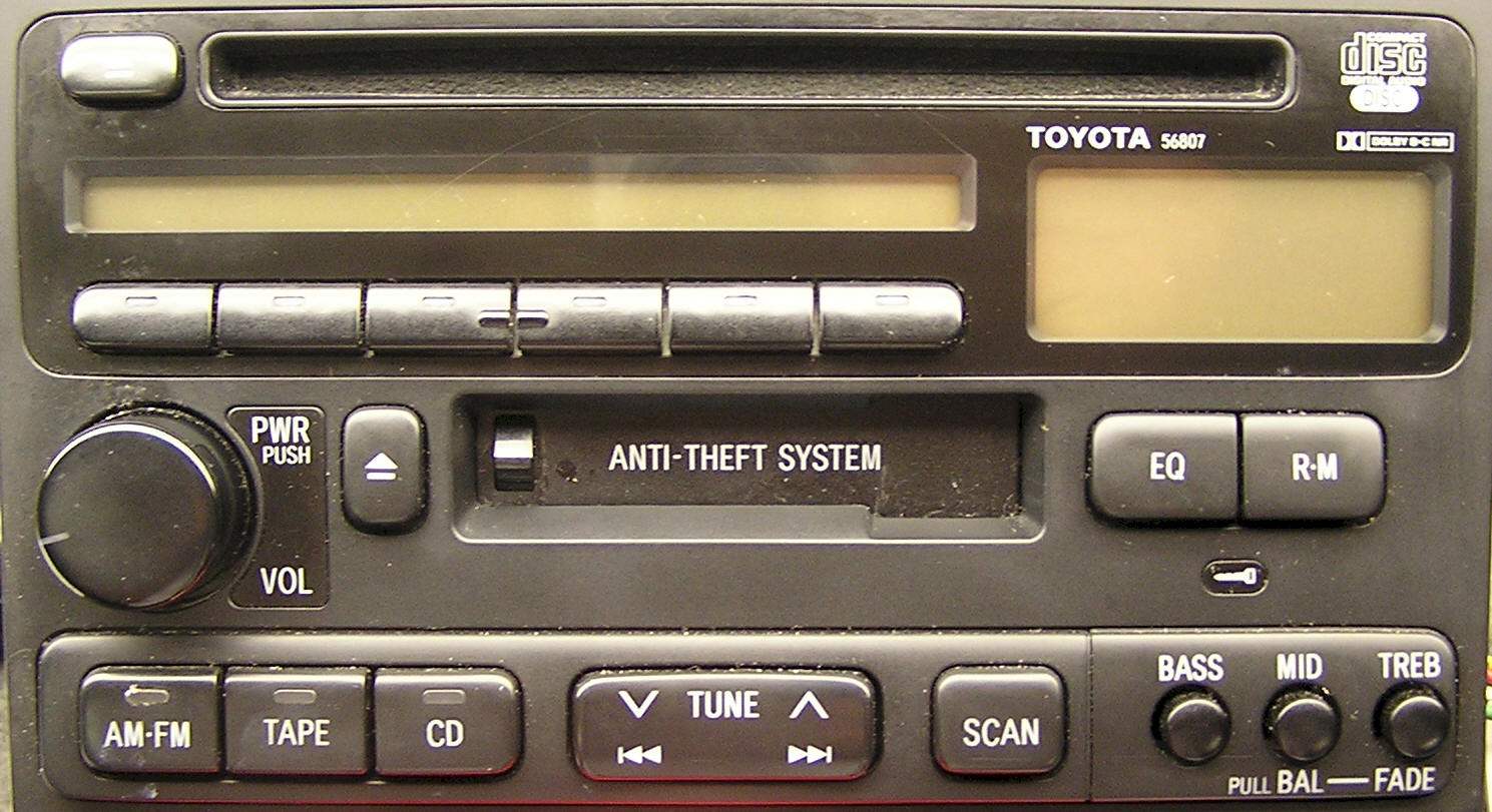Toyota CD Audio Repair