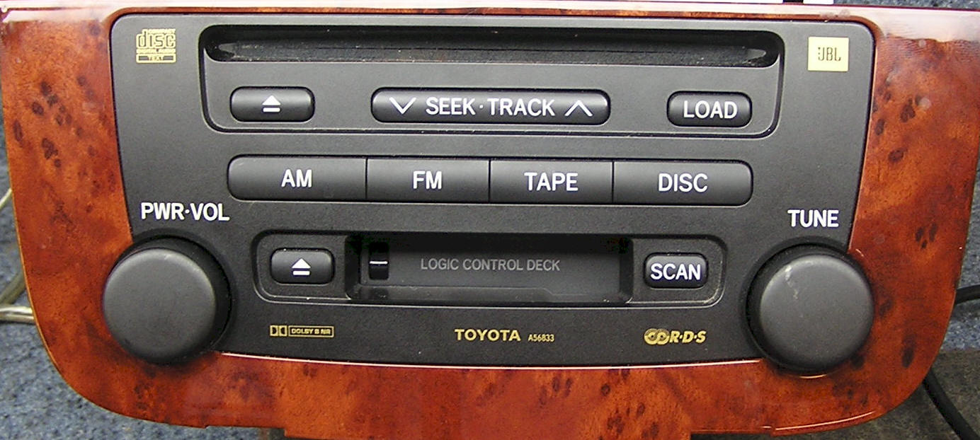 Toyota Highlander Car Audio Repair