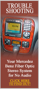 Do It Yourself Mercedes Benz Troubleshoot Fiber Optic No Audio Problem