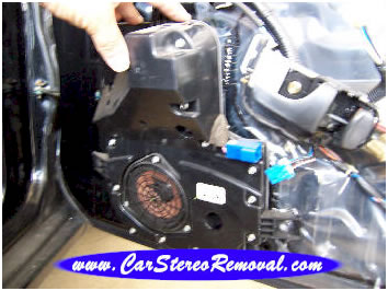 Nissan 300zx front Bose speaker enclosure repair and removal